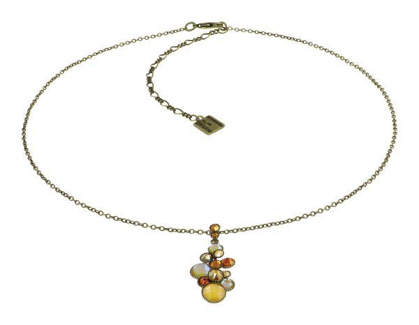 Konplott Water Cascade Halskette in Buttercup on Fire gelb 5450543908366