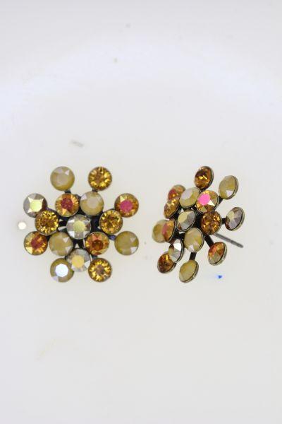 Konplott Magic Fireball Ohrstecker in gelb Classic Size 5450543914527