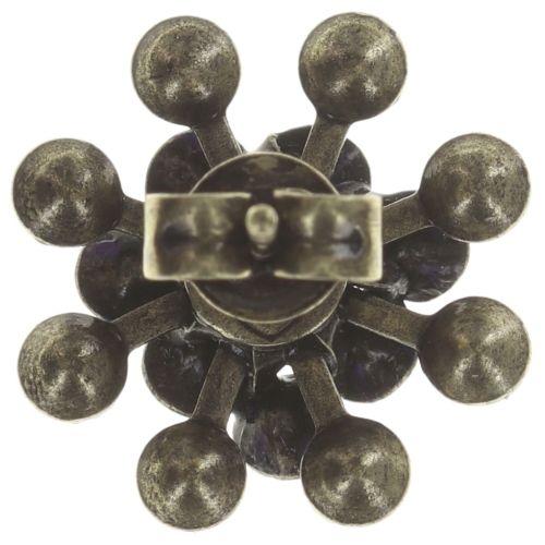 Konplott Magic Fireball Ohrstecker blau/lila mini 5450543683379