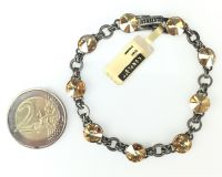 Vorschau: Konplott Rivoli crystal golden shadow Armband verschließbar 5450527640763