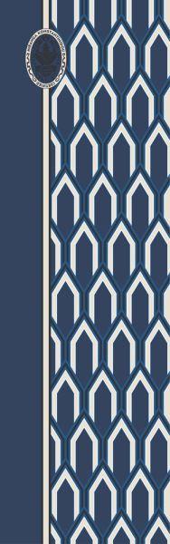 Konplott Schal Geometrisch 11 in blau 5450543806976
