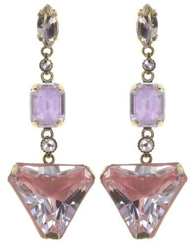 Konplott Mix the Rocks Ohrstecker in rosa crystal blush 5450543790510