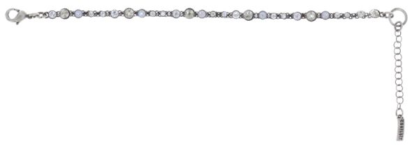 Konplott Alien Caviar Armband Crystal Clear in weiß 5450543895468