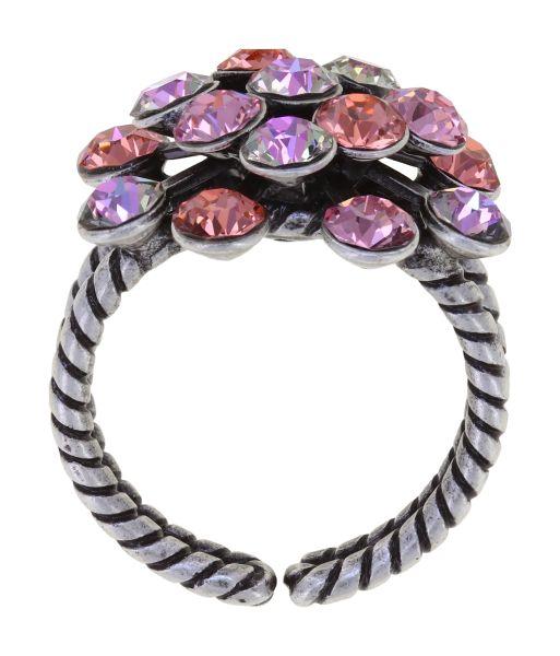 Konplott Magic Fireball Ring in pink/lila Classic Size 5450543914541