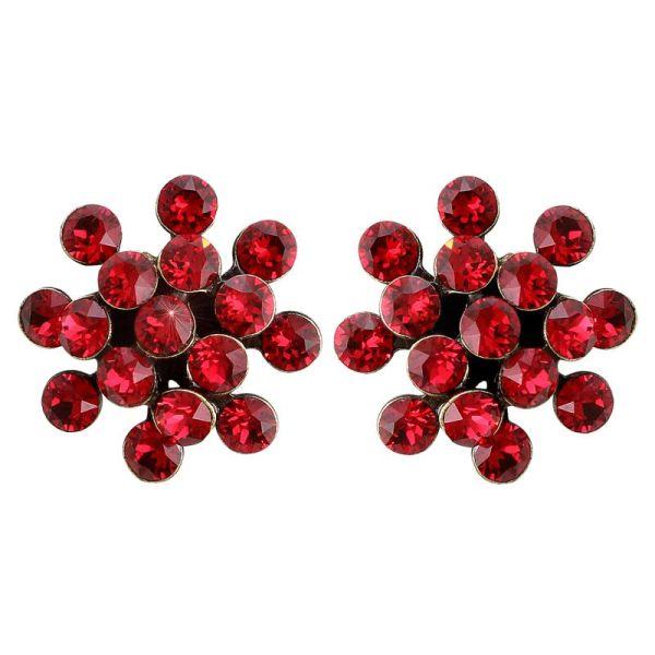 Konplott Magic Fireball Ohrstecker Mini in scarlet rot 5450543664576
