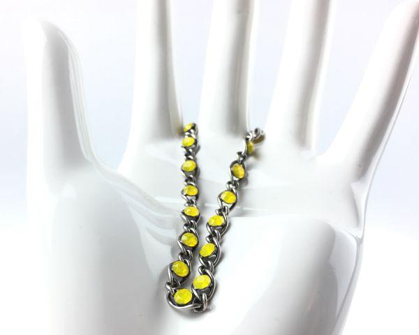 Konplott Magic Fireball gelbes Armband verschließbar 5450543461618