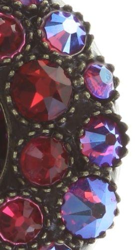 Konplott Inside Out Ohrstecker Größe S in scarlet rot 5450543675978
