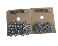 Vorschau: Konplott Magic Fireball grau crystal silver Ohrstecker mini 5450543656281