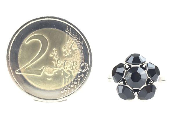 Konplott Disco Balls schwarzer Ring mit 1 Kugel 5450527598583
