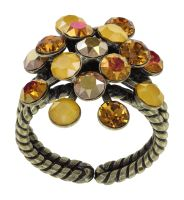 Vorschau: Konplott Magic Fireball Ring in gelb Classic Size 5450543903996