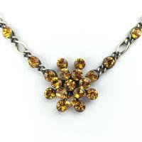 Vorschau: Konplott Magic Fireball Halskette steinbesetzt mit Anhänger in topaz 5450527640510