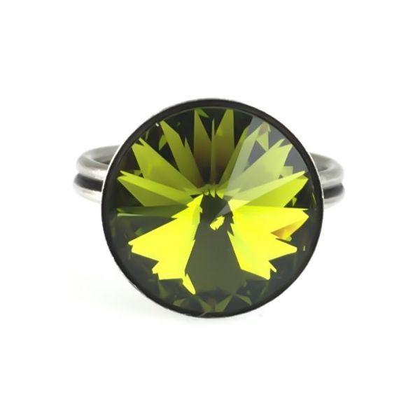 Konplott Rivoli olivine Ring 5450527640824