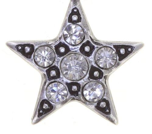 Konplott Dancing Star Ohrhänger in weiß Größe XS 5450543774763