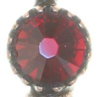 Vorschau: Konplott Amazonia lange Halskette mit Anhänger in rot, Größe L 5450543753300
