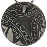 Vorschau: Konplott Studio 54 Halskette mit Anhänger groß in braun 5450543683522