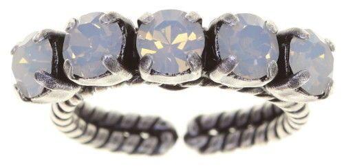 Konplott Colour Snake Ring weißer Opal 5450543853925