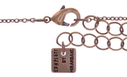 Konplott Dancing Star Halskette mit Anhänger in rot Größe L 5450543774510