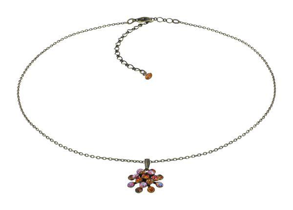 Konplott Magic Fireball Halskette in orange mini 5450543914985