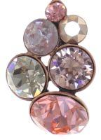 Vorschau: Konplott Petit Glamour Halskette mit Anhänger in pink 5450543766461