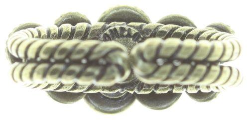 Konplott Water Cascade Ring in braun/orange 5450543754475