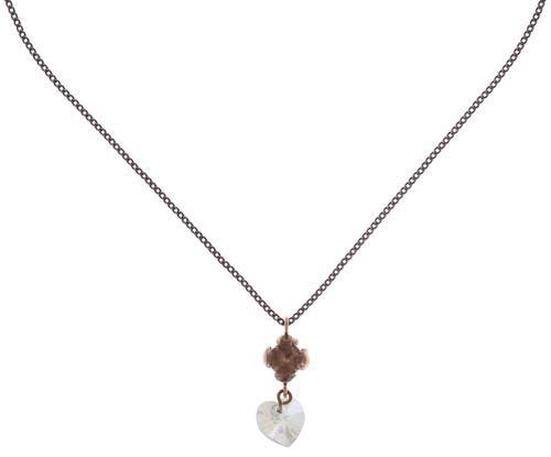 Konplott Little Frog Prince Halskette mit Anhänger in weiß 5450543708706