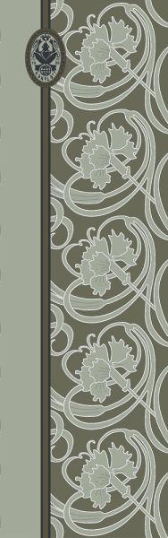 Konplott Schal Floral 17 in grün 5450543807119