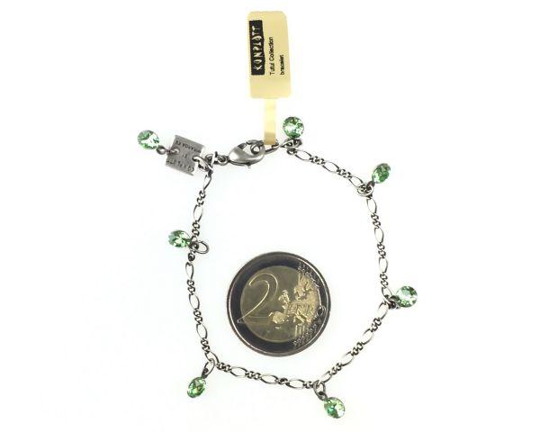 Konplott Tutui peridot Armband verschließbar, grün 5450527641142