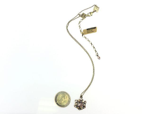 Konplott Bended Lights Halskette mit Anhänger in beige/vintage rose 5450527758963