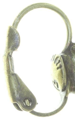 Konplott Tears of Joy Ohrhänger in braun crystal cappucci Größe M 5450543763484