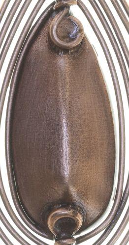 Konplott Amazonia Ohrhänger in braun, Größe M 5450543752648
