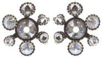 Konplott Alien Caviar Ohrring Crystal Clear *Neu: Fassung aus Titan 5450543895680