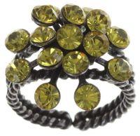 Vorschau: Konplott Magic Fireball 16 Stein Ring in light topaz 5450527640633