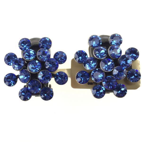 Konplott Magic Fireball Ohrclip in sapphire 5450527611701