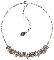 Vorschau: Konplott Water Cascade steinbesetzte Halskette in beige 5450543766621