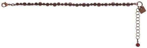 Konplott Water Cascade Armband in coralline rot 5450543766393
