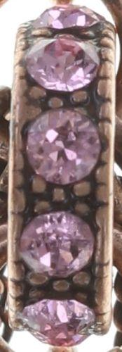 Konplott Colour Ring Ohrstecker hängend in coralline/light rose 5450543749228
