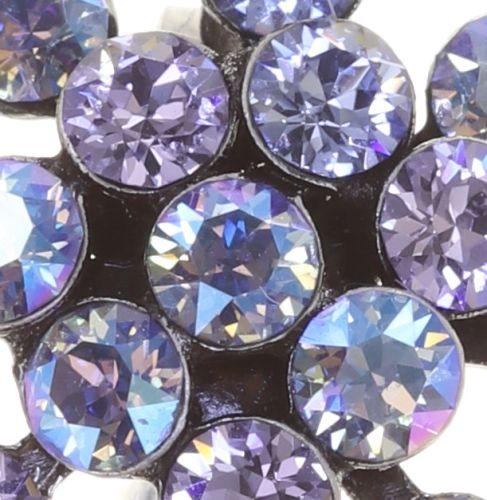 Konplott Magic Fireball Ohrclip Mini in lila forget me not 5450543854694