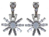 Vorschau: Konplott Spider Daisy Ohrclip hängend in weiß Größe L 5450543735788