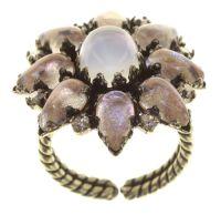 Vorschau: Konplott Mary Queen of Scots Ring Champagne weiß/beige 5450543891170