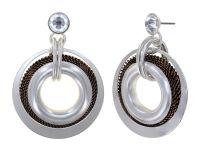 Konplott Rings in Concert Ohrhänger Coppered Silver 5450543932682