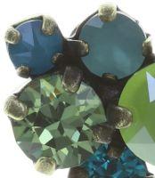 Vorschau: Konplott Ballroom Classic Glam Ohrstecker in blau/grün 5450543726687
