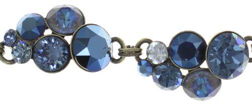 Konplott Petit Glamour Armband in dunkelblau 5450543760063