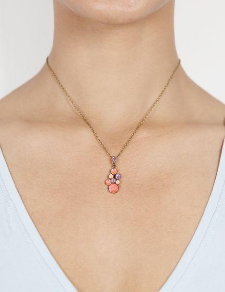 Konplott Water Cascade Halskette in Candied orange 5450543907987
