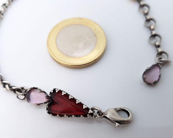 Konplott Snow White Armband in rot Größe S 5450543757483
