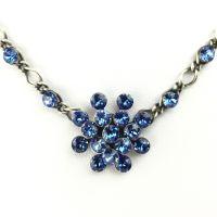 Vorschau: Konplott Magic Fireball Halskette steinbesetzt mit Anhänger in sapphire, blau 5450527611688