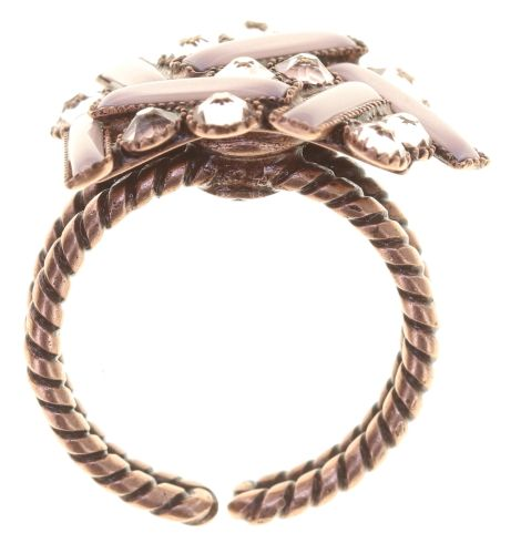 Konplott Graphic Flow Ring pink/rosa antique 5450543866093
