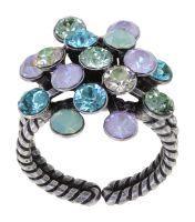Konplott Magic Fireball Ring in pastel multi Classic Size 5450543903965