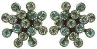 Konplott Magic Fireball Mini Ohrring Ohrstecker Magnetic Greens 5450543892757