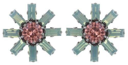 Konplott Spider Daisy Ohrstecker in pastel multi Größe S 5450543736525