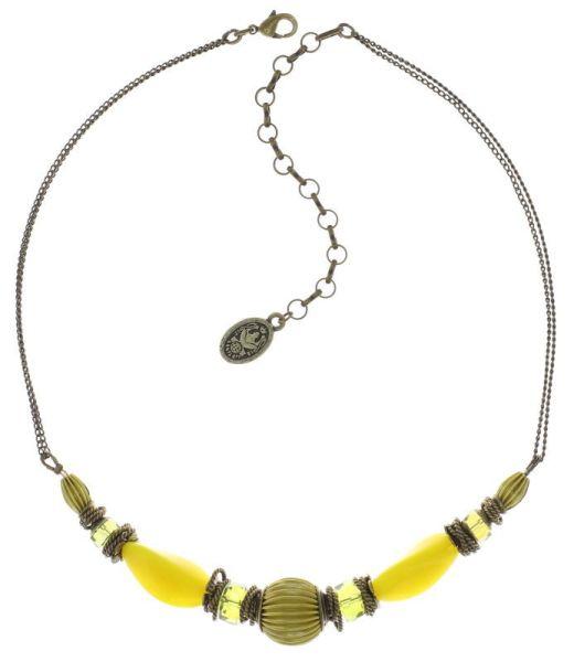 Konplott Tropical Candy Halskette - Gelb 5450543810232